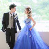 和装とカラードレスのフォトウエディング・レポ❤️ プレ花嫁情報!ドレスと着物、髪型の選び方♫